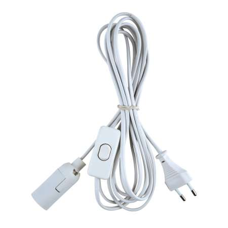 Heitronic Spojovací kábel s euro zástrčkou vrátane spínača