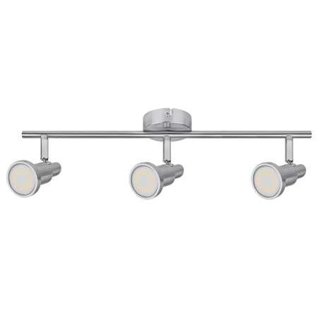 LEDVANCE LEDVANCE Niclas bodové LED nikel 3-plameňové