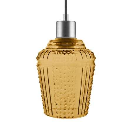 LEDVANCE LEDVANCE Vintage 1906 Carved Pendant Jar oranžová