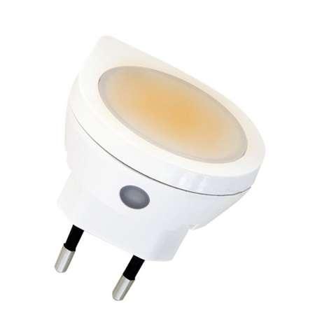 LIGHTME Snímač LED nočného svetla Erno do zásuvky