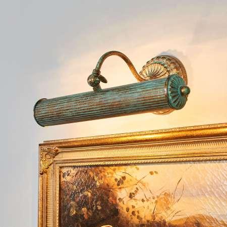 Lindby Anticky navrhnuté obrazové svetlo Beno