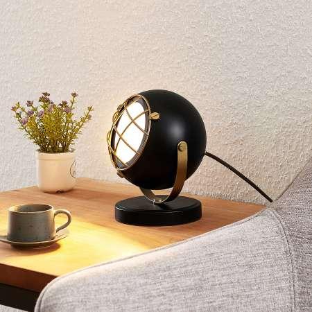 Lindby Lindby Dawid LED stolná lampa zlatá