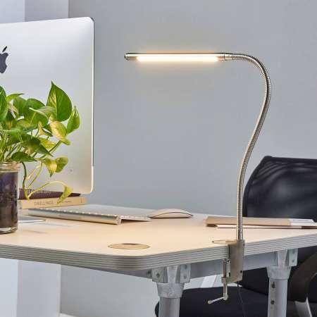 Lindby Upínacia LED lampa Lionard