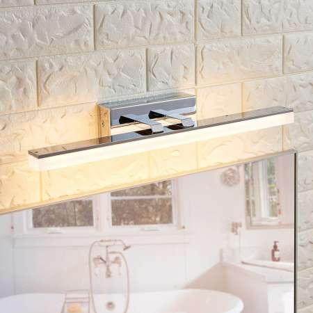 Lucande Kúpeľňové nástenné LED svetlo Julie podlhovasté