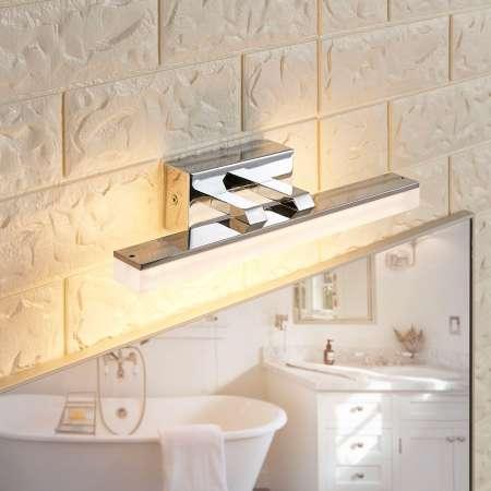 Lucande Kúpeľňové nástenné LED svietidlo Julie