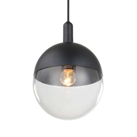 Lucande Lucande Dustian závesná lampa, sklenená guľa