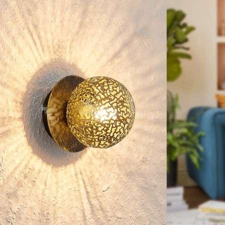 Lucande Lucande Evory nástenná lampa, jednoplameňová
