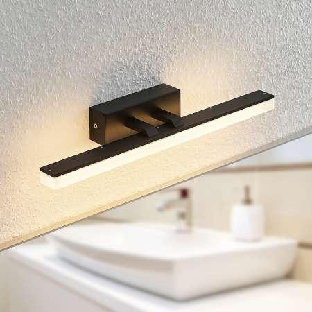 Lucande Lucande Lisana LED nástenná lampa, IP44, 46 cm