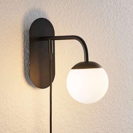 Lucande Lucande Rama LED nástenná lampa, tienidlá sklo