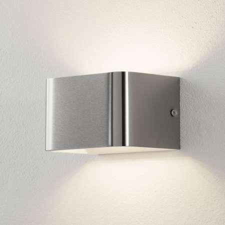Lucande Lucande Sessa LED nástenná lampa 13 cm nikel mat.