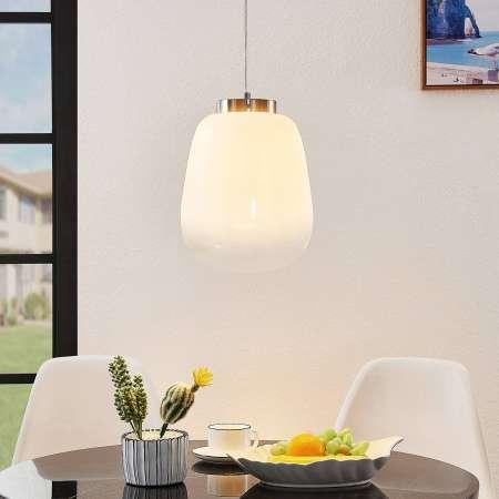 Lucande Lucande Tessi sklenená závesná lampa
