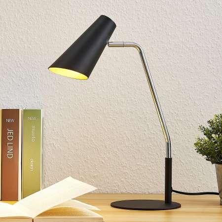 Lucande Lucande Wibke stolná lampa v čiernej