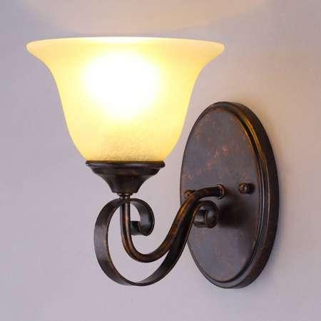Lucande Nástenné svietidlo Svera vidiecky štýl E27 LED