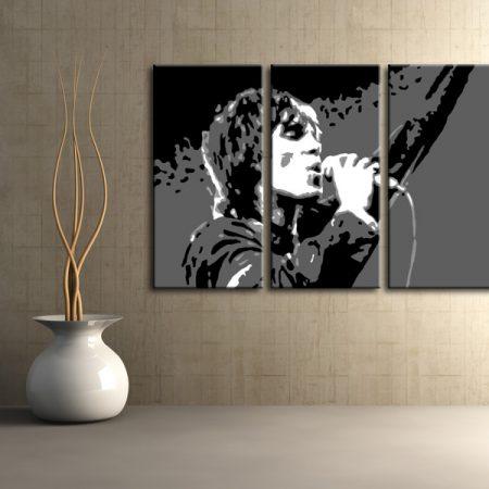 """Maľovaný POP Art obraz -21% Zľava  Ian Brown """"do 24hodín"""" 3 dielny 120x80cm ib2"""
