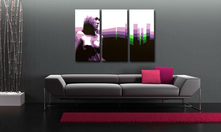 Maľovaný POP Art obraz Zľava 50 % Susi 3 dielny 120X80 cm susi/24h