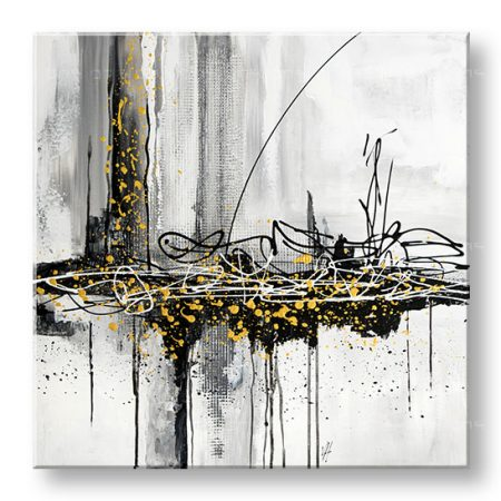 Maľovaný obraz na stenu ABSTRAKT 1 dielny YOBFB548E1