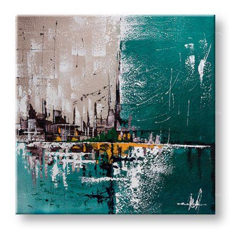 Maľovaný obraz na stenu ABSTRAKT 1 dielny YOBFB554E1