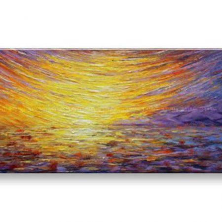 Maľovaný obraz na stenu ABSTRAKT BI158E1