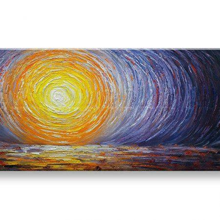 Maľovaný obraz na stenu ABSTRAKT BI160E1