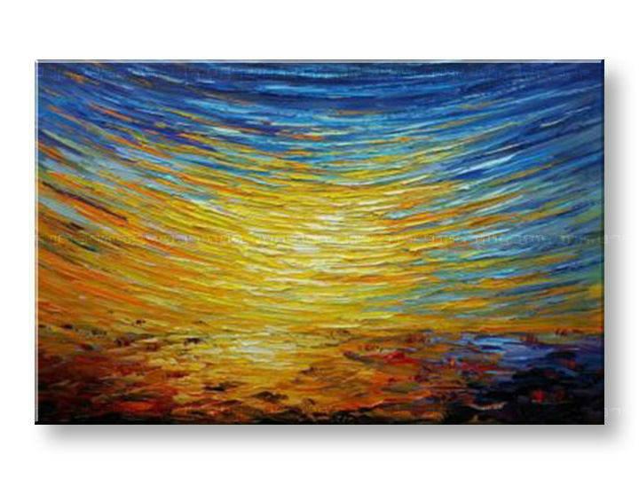 Maľovaný obraz na stenu ABSTRAKT BI167E1