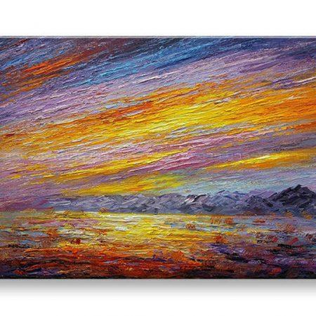 Maľovaný obraz na stenu ABSTRAKT BI170E1
