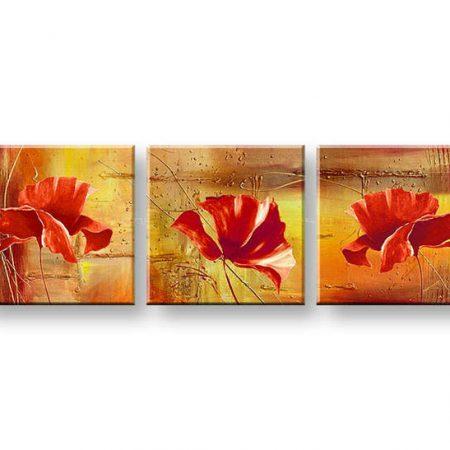 Maľovaný obraz na stenu ABSTRAKT FB028E3
