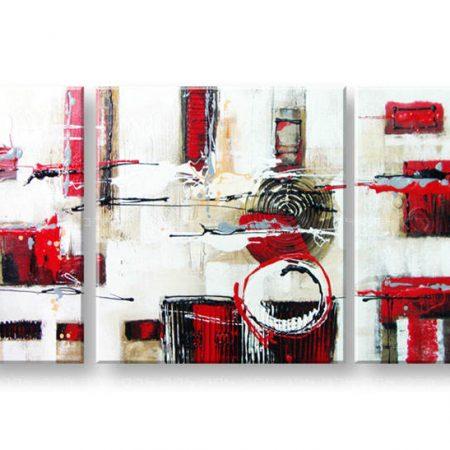 Maľovaný obraz na stenu ABSTRAKT FB148E3