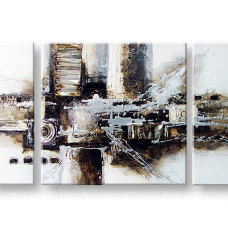 Maľovaný obraz na stenu ABSTRAKT FB190E3