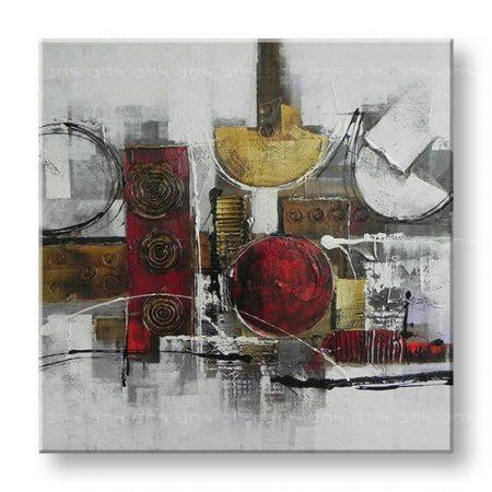 Maľovaný obraz na stenu ABSTRAKT FB195E1