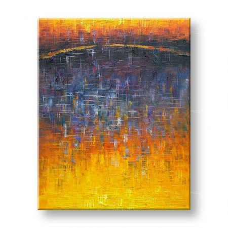 Maľovaný obraz na stenu ABSTRAKT FB476E1