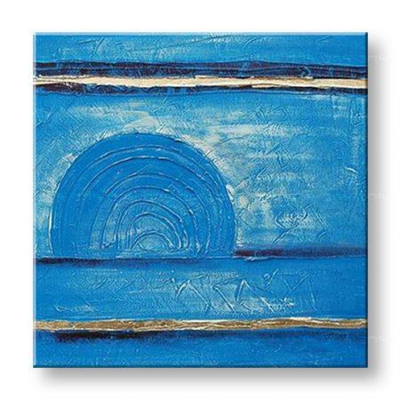 Maľovaný obraz na stenu ABSTRAKT NU0002E1