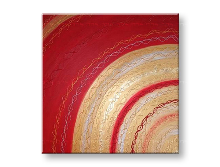 Maľovaný obraz na stenu ABSTRAKT NU0004E1