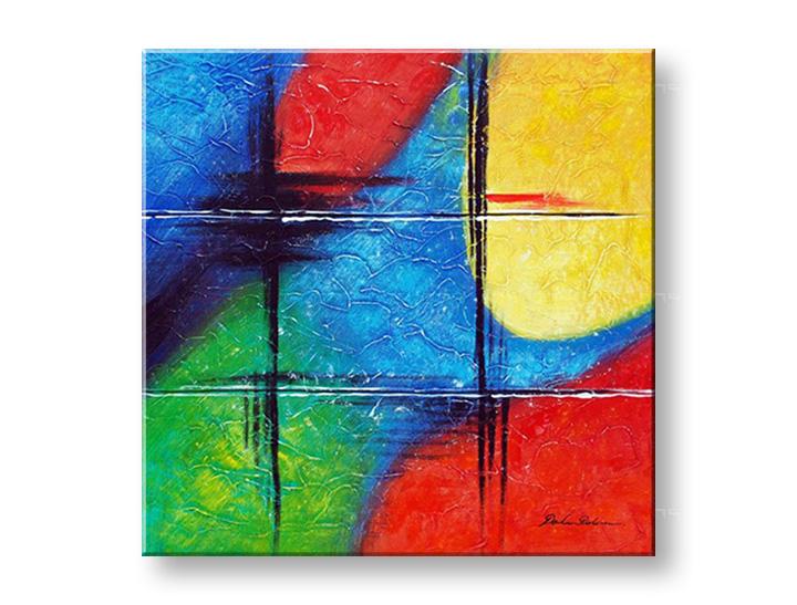 Maľovaný obraz na stenu ABSTRAKT NU0008E1