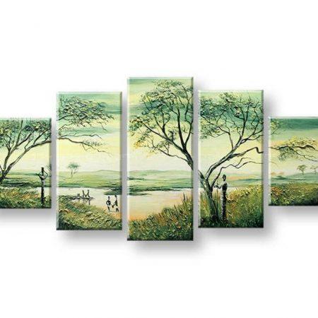 Maľovaný obraz na stenu AFRIKA FB426E5