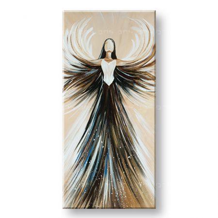 Maľovaný obraz na stenu ANJEL YOBFB542E1