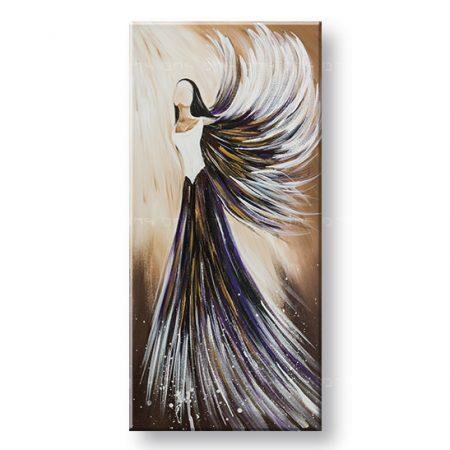 Maľovaný obraz na stenu ANJEL YOBFB543E1