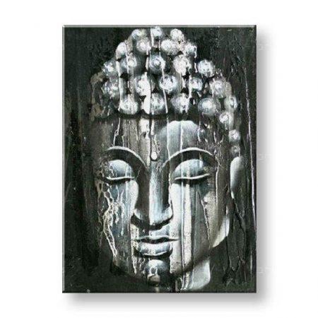Maľovaný obraz na stenu BUDHA FB092E1