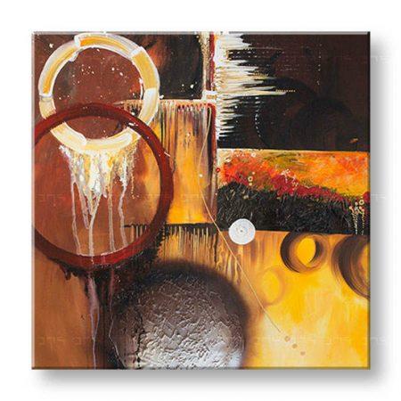 Maľovaný obraz na stenu DeLUXE ABSTRAKT 031D1
