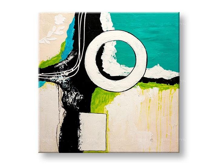 Maľovaný obraz na stenu DeLUXE ABSTRAKT YOB137D1