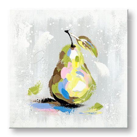 Maľovaný obraz na stenu DeLUXE HRUŠKA 1 dielny YOBDO143D1