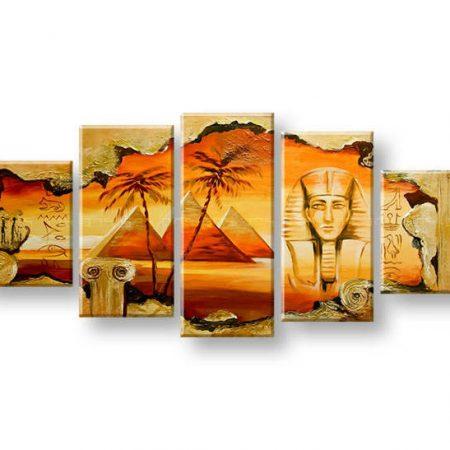 Maľovaný obraz na stenu EGYPT FB409E5
