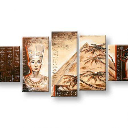 Maľovaný obraz na stenu EGYPT FB451E5