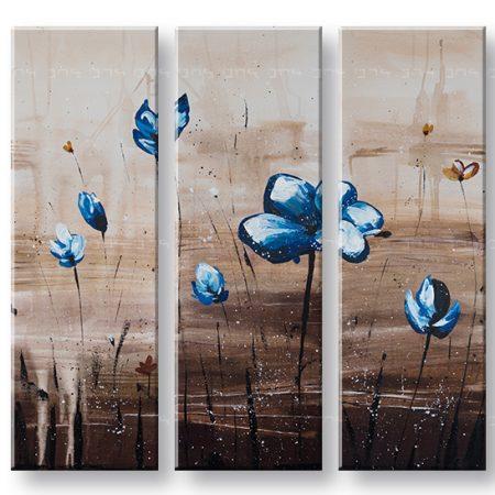 Maľovaný obraz na stenu KVETY YOBFB546E3
