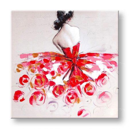 Maľovaný obraz na stenu LUXURY ŽENA YOBLU013L1