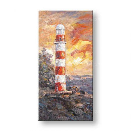 Maľovaný obraz na stenu MAJÁK FB064E1