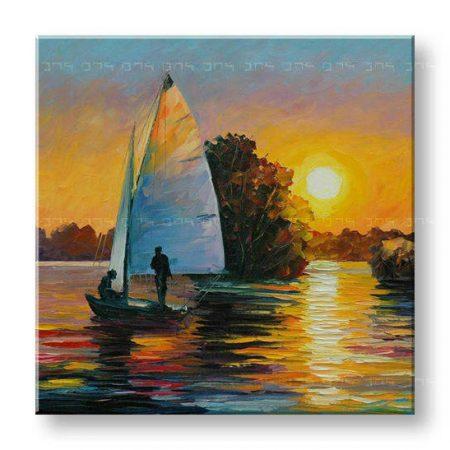 Maľovaný obraz na stenu MORE FB116E1