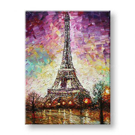 Maľovaný obraz na stenu PARÍŽ FB129E1