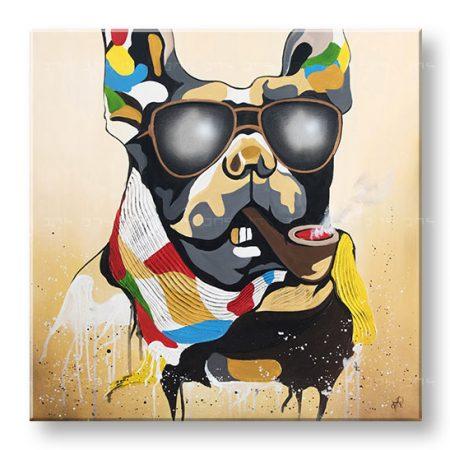 Maľovaný obraz na stenu PES 1 dielny YOBDA050E1