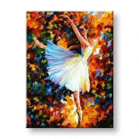Maľovaný obraz na stenu ŽENA FB224E1