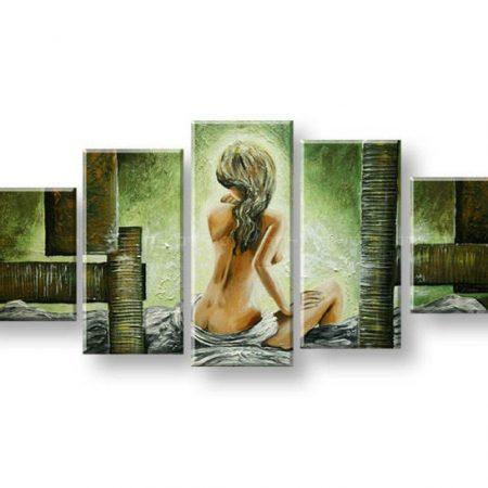 Maľovaný obraz na stenu ŽENA FB363E5